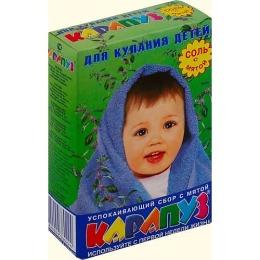 "Карапуз соль для ванн ""Мята"""