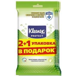 """Kleenex салфетки влажные """"Protect"""""""