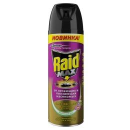 """Raid аэрозоль от ползающих и летающих насекомых """"Весенний луг"""", 300 мл"""
