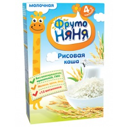 """Фруто Няня каша """"Рисовая"""" с 6 месяцев"""