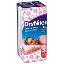 """Huggies трусики для девочек """"DryNights"""" 8-15 лет, 9 шт"""