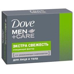 """Dove крем-мыло """"Экстра Свежесть"""" для лица и тела"""