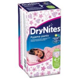"""Huggies трусики для девочек """"DryNights"""" 4-7 лет, 10 шт"""