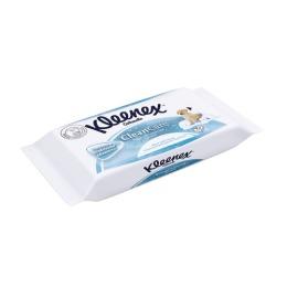 Kleenex туалетная бумага влажная сменный блок