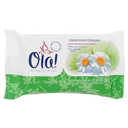 Ola ola влажные очищающие салфетки для интимной гигиены нежная орхидея 15шт