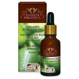 """Planeta Organica масло для шеи и декольте """"Авокадо"""", 30 мл"""