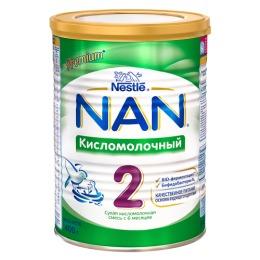 NAN 2 Сухая кисломолочная смесь для детей с 6 месяцев, 400 г