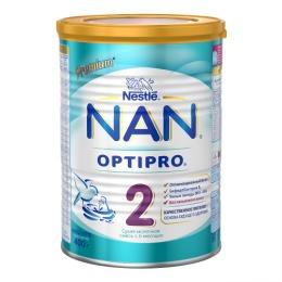 NAN 2 OPTIPRO Сухая молочная смесь для детей с 6 месяцев, 400 г
