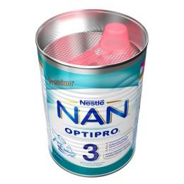 NAN молочная смесь 3, 400 г + зубная щетка