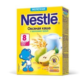 "Nestle каша молочная ""Овес"" груша, бифидобактерии, 220 г"