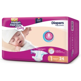 "Helen Harper подгузники ""Baby Newborn"" 2-5 кг"