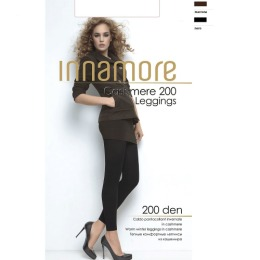 "Innamore леггинсы ""Cashmere leggings 200"" nero"