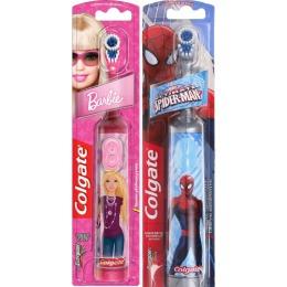 """Colgate зубная щетка """"Barbie и Spiderman"""" детская электрическая, 1 шт"""