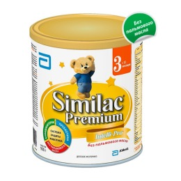 "Similac сухой молочный напиток ""Premium 3"" с 12 месяцев, 900 г"