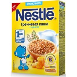 """Nestle каша молочная """"Гречка. Курага"""" с бифидобактериями, 250 г"""