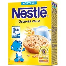 """Nestle каша молочная """"Овсяная"""" с бифидобактериями, 220 г"""
