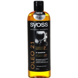 Syoss шампунь для сухих и ломких волос, 500 мл
