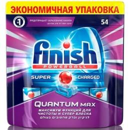 "finish таблетки для посудомоечных машин ""Quantum Max. Анти-жир"""