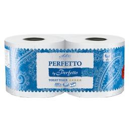 """Aster туалетная бумага """"Perfetto by Perfetto"""" 5 слойная, тон белая, 2 шт"""