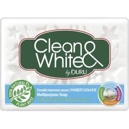 """Duru мыло хозяйственное """"Clean & White"""" универсальное, 125 г"""
