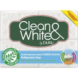 """Duru хозяйственное мыло """"Clean & White"""" классическое"""