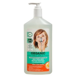 "Organic people гель для мытья посуды ""Green clean orange"", 500 мл"