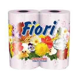 "Aster туалетная бумага ""Fiori"" 3 слойная ароматизированная, тон розовая, 4 шт"