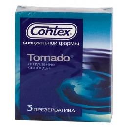 """Contex презервативы """"Tornado"""" специальной расширяющейся кверху формы"""