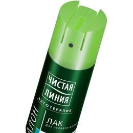 """Чистая Линия лак для укладки волос """"Объем от корней"""", 200 мл"""