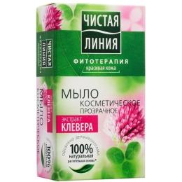 """Чистая Линия мыло """"Экстракт Клевера"""", 80 г"""