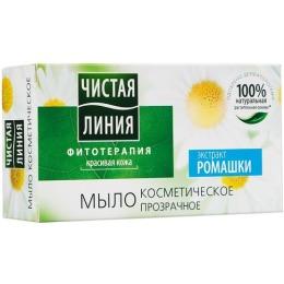 """Чистая Линия мыло """"Экстракт Ромашки"""", 80 г"""