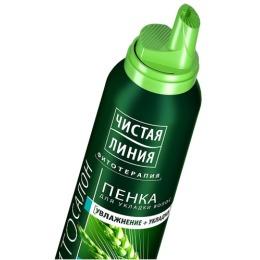 """Чистая Линия пенка для укладки волос """"Объем от корней"""", 150 мл"""