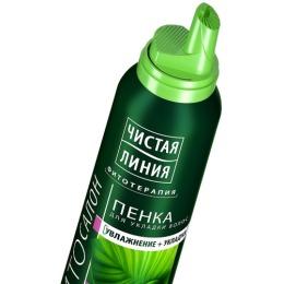 "Чистая Линия пенка для укладки волос ""Термозащита"", 150 мл"