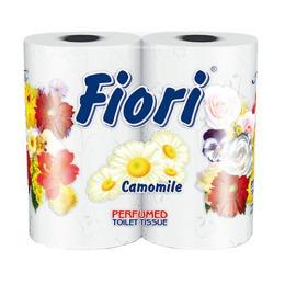 """Aster туалетная бумага """"Fiori"""" 3 слойная ароматизированная, тон белая, 4 шт"""