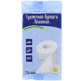 Aura влажная туалетная бумага, 72 шт