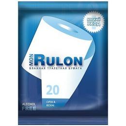 Mon Rulon влажная туалетная бумага, 20 шт