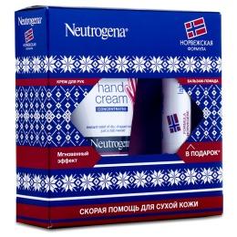 Neutrogena набор женский крем для рук с запахом, 50 мл + бальзам-помада, 4.8 г