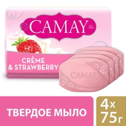 "Camay мыло туалетное ""Creme and Strawberry"""