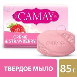"Camay мыло туалетное ""Creme and Strawberry"", 85 г"