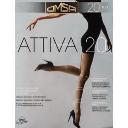 """Omsa колготки """"Attiva 20"""" caramello"""