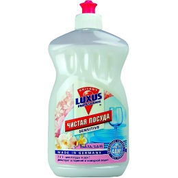 """Luxus средство для мытья посуды """"Чистая посуда"""" Свежесть"""