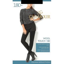 """Glamour колготки """"Wool touch 180"""" nero"""
