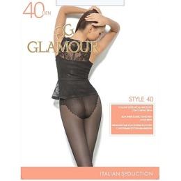 "Glamour колготки ""Style 40"" размер 4 miele"
