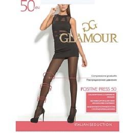 "Glamour колготки ""Positive press 50"" размер 2 nero"