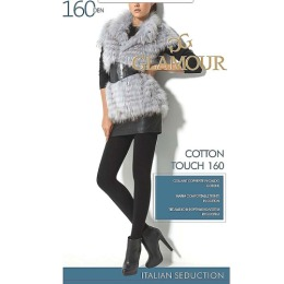 "Glamour колготки ""Cotton touch 160"" nero"