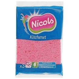 Nicols целлюлозная губка