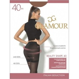 "Glamour колготки ""Beauty shape 40"" nero"