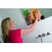 Vileda салфетка для мытья окон и зеркал, 1 шт