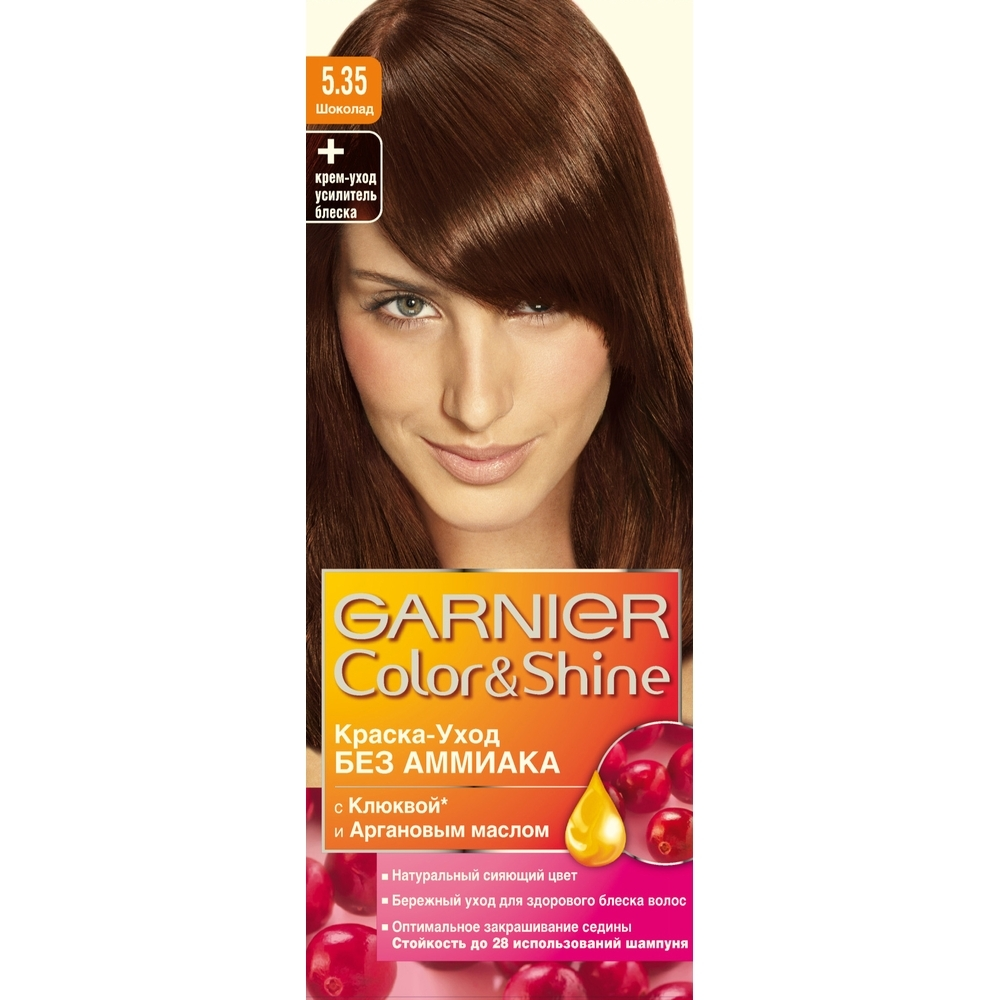 Garnier краска-уход для волос color&shine без аммиака ... Жемчуг Текстура