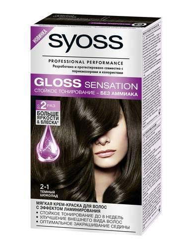 Syoss краска для волос gloss sensation